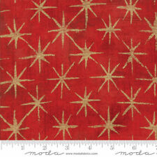 Liberty ~ Vita B Rojo Tana Césped Tela//Acolchar confección Amarillo Azul Floral