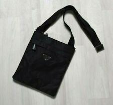PRADA Nylon Crossbody Shoulder Bag Black #50724