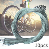 10Pcs 1.75M Road Bike Bicycle Brake Inner Wire Cable Line Stainless Steel