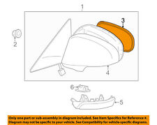 Genuine Toyota 87910-07063-D0 Rear View Mirror Assembly