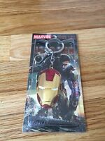 New Marvel The Avengers Iron Man Mask Metal Golden color Keyring Keychain USA