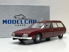 1:18 Citroën CX 2200 Super Break Serie I año 1976 color Rojo Model car Group