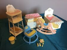 Vintage Barbie Nursery Furniture Mattel 1984