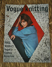 Original VOGUE-VOGUE knitting book-début des années 60's - VOGUE Knit N ° 60