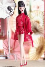 CHINOISERIE Red Moon Silkstone De-Boxed Barbie FASHION Gold Label 2004  Last One