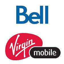 Unlock Code for Bell / Virgin Mobile Samsung S7 S6 S5 S4 S3 S2, Active, Prime
