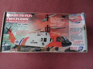 Twister R/C coastguard helicopter