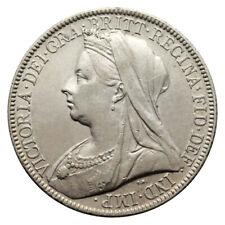UK UNITED KINGDOM 2 SHILLINGS SILVER KM# 781 QUEEN VICTORIA 1898 XF++ / aUNC