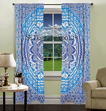 indian wall hanging moroccan curtains ethnic curtains mandala window curtains