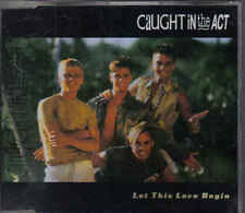 Caught In the Act- Let this love Begin cd maxi single