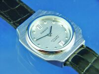Ladies Vintage Retro Tissot Swiss Watch Rare Quartz New Old Stock NOS 1970s