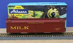 Athearn HO 50' Reefer Yankee Clipper Milk car Kit Little Rhody Div NMRA  1980