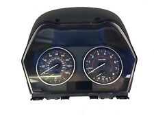 BMW F20 118i 2016-2018 / SPEEDOMETER SPEEDO CLOCKS 2400K - 17649411 / 24H DEL