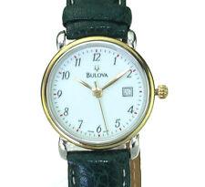 Bulova Swiss Made flache Damen Uhr Ref. 134101,  ,Ungetragen
