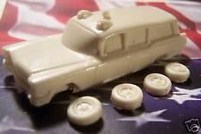 HO SCALE AUTO 1960'S CADILLAC AMBULANCE RESIN KIT