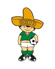 "1970 Mexico World Cup Mascot - 8""x10"" Photo"
