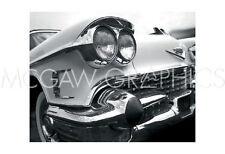 """JAMES RICHARD - '58 CAD ELDO - Offsett Lithograph 13"""" X 19"""" (550)"""