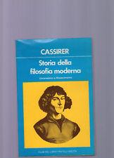 cassirer-sotira filosofia moderna-umanesimo e rinascime