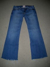 """PEOPLE'S LIBERATION LOW RISE BELLA 19"""" MONACCO FLARE STRETCH JEANS SIZE 29"""