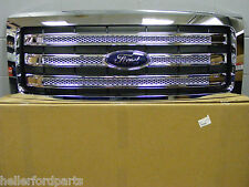 2009 2010 2011 2012 2013 2014  FORD F150 CHROME XLT LARIET FORD OEM GRILLE!!!