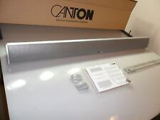 Canton CD 90 Soundbar Speaker Single Silver