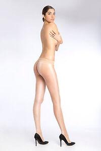 Cecilia De Rafael Sevilla Libero Seamless Tights High Shine Pantyhose 15 Denier