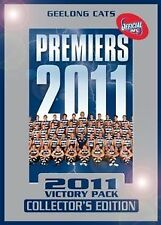 AFL - GEELONG CATS 2011 VICTORY PACK 4 DISC PACK COLLECTOR'S EDITION
