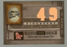 Babe Ruth 2005 Playoff/Donruss Biography #49 Boston Red Sox