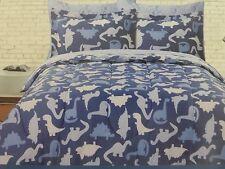 5 pc Dinosaurs Twin Comforter, Sham & Sheet Set NIP