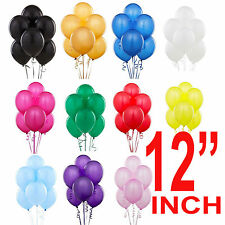"12"" inch 30 -100 Latex  LARGE helium Quality Birthday Wedding Balloons baloons"