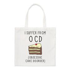 I Suffer de OBSESSIVE gâteau désordre OCD PETIT SAC FOURRE-TOUT - Drôle épaule