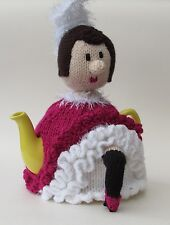 Teacosyfolk French Can-Can fille Tea Cosy Knitting Pattern Knit votre propre!