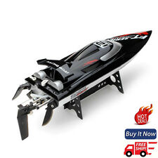 Hi Speed FT012 Upgraded 2.4G Brushless RC Remote Control Racing Boat Toy Kit USA