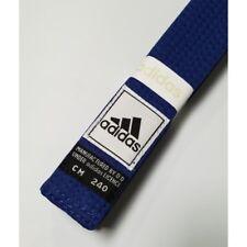NEW! Adidas Martial Arts Belt Taekwondo TKD Karate Judo Jiu-Jitsu - BLUE - sz 5