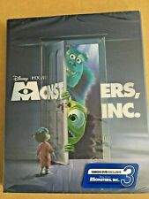 Monsters, Inc. KimichiDVD Blu-Ray Steelbook Lenticular Limited Edition RARE
