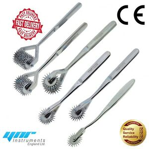 YNR® Wartenberg Pinwheel Sensory Stimulate Neurological Physio Pin Diagnostic CE