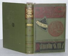 The Story Of Nations - Phoenicia - George Rawlinson - T Fisher Unwin, 1896-  HB