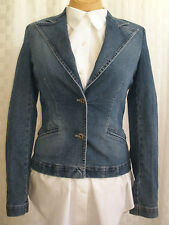 DOLCE & GABBANA STRETCH DENIM JACKET WOMEN'S SIZE 24/38 UNIQUE HOT MADE IN ITALY