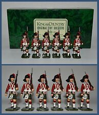 King & Country Glossy Lot of *6* Black Watch Highlanders Marching **K&C/8400.2**
