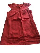 Evie Collection Linen Cotton Blend Dress Size 18 Bmwt New Shift
