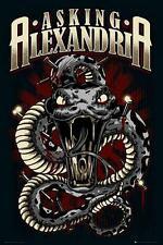 Asking Alexandria : Snake - Maxi Poster 61cm x 91.5cm new and sealed