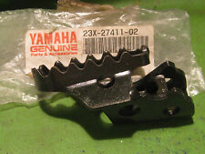 YAMAHA IT490 YZ490 TT600 IT200 YZ250 LEFT SIDE FOOTREST OEM # 23X-27411-02-00