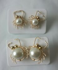 VENEZUELAN PEARL/GOLD EARINGS FROM CARIBBEAN MARGARITA ISLAND LOCAL MADE ARTESAN