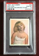 "1964-65 CUMBRE SUE LYON ""LOLITA"" PSA 10 GEM MINT FILM STARS MOVIE STARS 1/1"