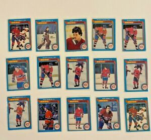 1979-80: O-PEE-CHEE [15 CARD LOT] - CANADIENS | OPC SHUTT, HOULE, JARVIS