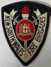 NSW New South Wales Fire Brigades Cloth Patch