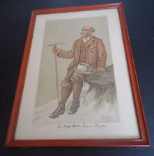 The Rt Hon J Bryce MP VANITY FAIR Feb 23, 1893 PRINT by STUFF Henry C. S. Wright