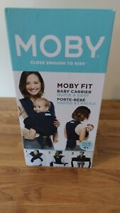 MOBY FIT BABY WRAP CARRIER MIDNIGHT BLUE
