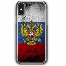 Russland Splash Flagge Russia iPhone XS Hardcase Hülle Russisch Cover Case Hand