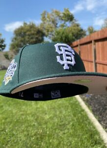 SF Giants Green Eggs and Ham Fitted Size 7 3/8 Hat Club
